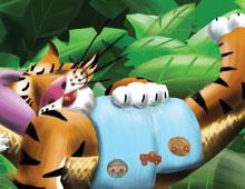 Téodore le tigre dort